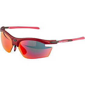 Rudy Project Rydon Slim Brille merlot matte/multilaser red